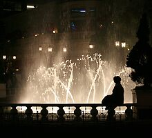Floodlit Fountain by RationalMatthew