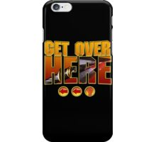 Scorpion Get Over Here iPhone Case/Skin