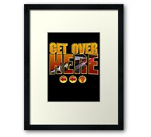 Scorpion Get Over Here Framed Print