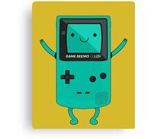 Game Beemo Color Canvas Print
