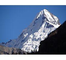 Snow Peak Photographic Print