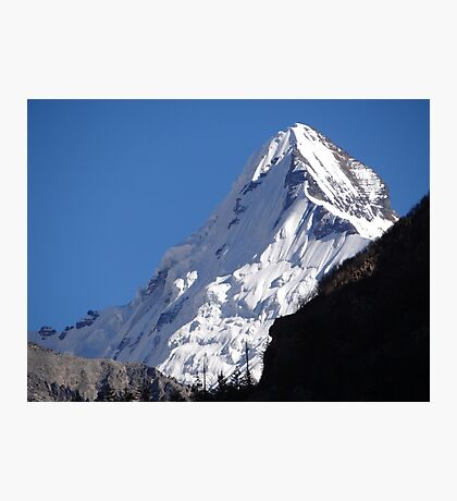 Snow Peak Photographic Print