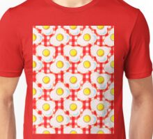 Eggs (red gingham) Unisex T-Shirt