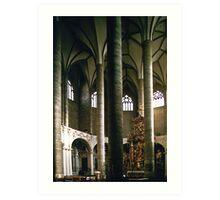 Franciscan church Salzburg 19971011 0014 Art Print