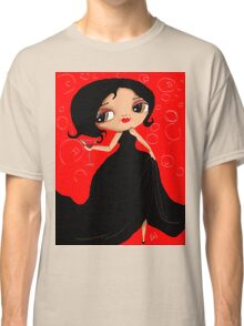 Black Dress in a Red Room Classic T-Shirt