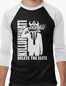 Delete The Elite Men's Baseball ¾ T-Shirt