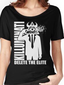 Delete The Elite Women's Relaxed Fit T-Shirt