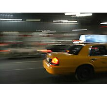 RUSH NEW YORK CITY Photographic Print