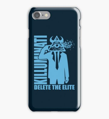 Delete The Elite iPhone Case/Skin