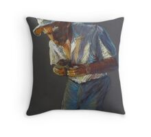 The Beekeeper Throw Pillow