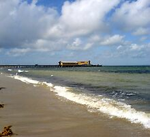 Wharf at Queenscliff by Ameel Khan
