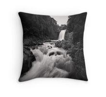 Tawhai Falls Throw Pillow