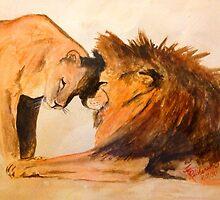 Lions in Love #1 by timricherson