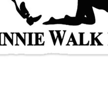 Johnnie Walk-Her (Walker) Sticker