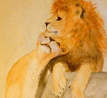 Lions in Love #2 by timricherson