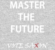 Vote saxon Master the future One Piece - Long Sleeve
