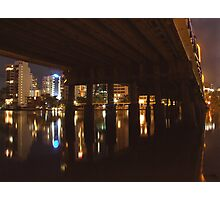 GOLD COAST UNDER THE BRIDGE Photographic Print