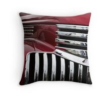Candy Apple Hauler Throw Pillow