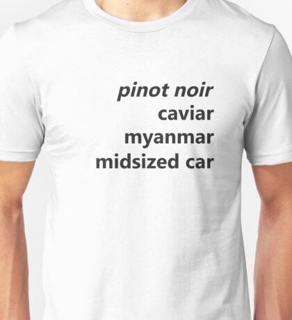 Unbreakable- Pinot Noir Unisex T-Shirt