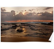 Sunrise over Wamberal Poster