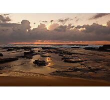 Sunrise over Wamberal Photographic Print