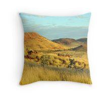 Pilbara Scenery Throw Pillow