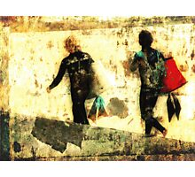 Retro Grunge Photographic Print