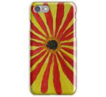 Red Straw Zinnia I iPhone Case/Skin