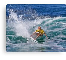 Kelly Slater.2 at 2010 Billabong Pipe Masters In Memory Of Andy Irons Canvas Print