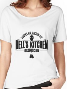 Hell's Kitchen Boxing Club - Black Women's Relaxed Fit T-Shirt