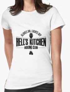 Hell's Kitchen Boxing Club - Black Womens Fitted T-Shirt