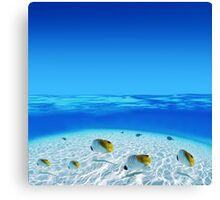 Post Card from Tahiti Canvas Print