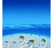 Post Card from Tahiti Photographic Print