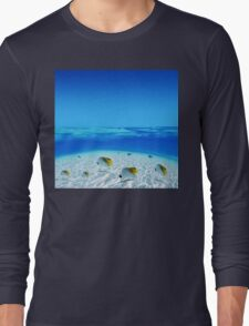 Post Card from Tahiti Long Sleeve T-Shirt