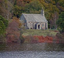 The Trossachs Kirk - Loch Achray by ShutterBuggz