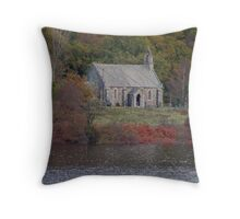 The Trossachs Kirk - Loch Achray Throw Pillow