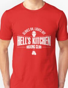Hell's Kitchen Boxing Club - White Unisex T-Shirt