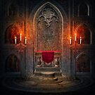 Gothic Architectural Interior Element by artonwear