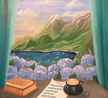 Hawaii Window by Lynn Wright