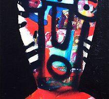 Tribal Head by Roy B Wilkins