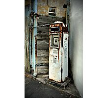 Petrol Pumps of Totterdown Photographic Print