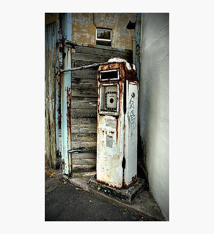 Petrol Pumps of Totterdown Photographic Print