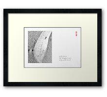 Riverboat Man - part 5 Framed Print