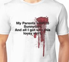 My Parents Went to Sunnydale Parody version 1 Unisex T-Shirt