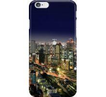 Osaka by Night - Japan iPhone Case/Skin