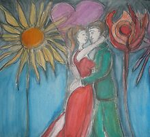 Garden  Of Love by Anthea  Slade