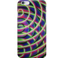 Painted Spirals 2 iPhone Case/Skin