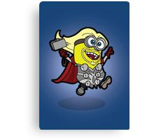 Minions Assemble - Lord of Thunder, Prince of Mingard Canvas Print