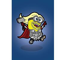 Minions Assemble - Lord of Thunder, Prince of Mingard Photographic Print