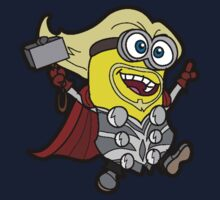 Minions Assemble - Lord of Thunder, Prince of Mingard Kids Tee